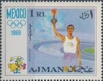 Ajman 1968 Olympic Games - Mexico a