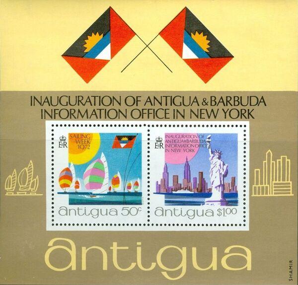 Antigua 1972 Inauguration of Antigua & Barbuda Information Office in New York g