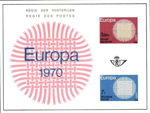 Belgium 1970 Europa c