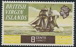 British Virgin Islands 1970 Ships h