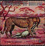 Burundi 1971 Animals k