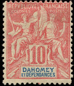 Dahomey 1900 Navigation and Commerce a