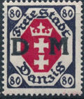 """Danzig 1921 Issues from 1921-1922 Overprinted """"D M"""" j"""
