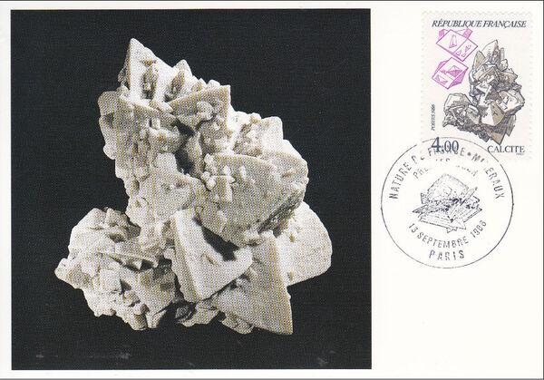 France 1986 Minerals MCc