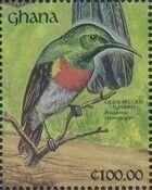 Ghana 1991 The Birds of Ghana zp