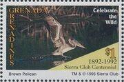 Grenada Grenadines 1995 100th Anniversary of Sierra Club - Endangered Species a