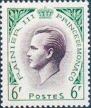 Monaco 1955 Prince Rainier III a