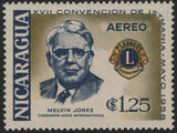 Nicaragua 1958 17th Convention of Lions International of Central America (Air Post Stamps) d