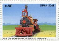 Sierra Leone 1995 Railways of the World 4b