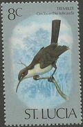 St Lucia 1976 Birds f