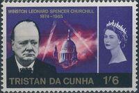 Tristan da Cunha 1966 Churchill Memorial d
