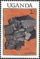 Uganda 1988 Minerals b