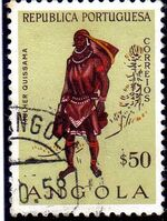 Angola 1957 Indigenous Peoples of Angola g