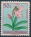 Belgian Congo 1952 Flowers f