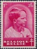 Belgium 1936 National Anti-Tuberculosis Society - Prince Boudewijn f