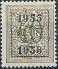 Belgium 1955 Heraldic Lion with Precancellations d