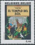 Belgium 2007 Tintin book covers translated o