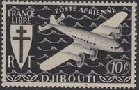 French Somali Coast 1941 Airmail d