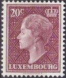 Luxembourg 1958 Grand Duchess Charlotte (5th Group) a