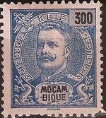 Mozambique 1898 D. Carlos I m
