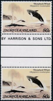 Norfolk Island 1982 Whales GPc
