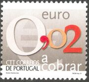 Portugal 2002 Euro Coins (Postage Due Stamps) b