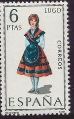 Spain 1969 Regional Costumes Issue f