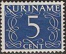 Surinam 1948 Numerals g