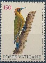 Vatican City 1989 Birds from Eleazar Albin Engravings b