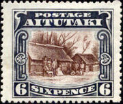Aitutaki 1920 Pictorial Definitives e