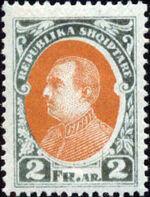 Albania 1925 President Ahmed Zogu i