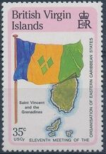 British Virgin Islands 1987 11th Meeting of the Organization of Eastern Caribbean States e