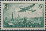 France 1936 Plane over Paris a