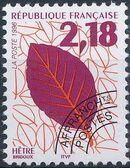 France 1996 Leaves - Precanceled b