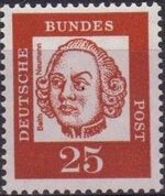 Germany, Federal Republic 1961 Famous Germans g