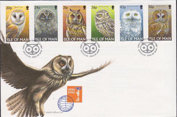 Isle of man 1997 Owls m