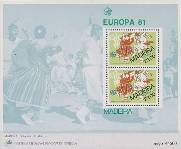 Madeira 1981 Europa d