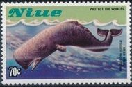Niue 1983 Protect the Whales f