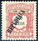 St Thomas and Prince 1913 Postage Due Stamps - 1st Overprint i