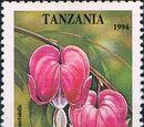 Tanzania 1995 Tropical Flowers