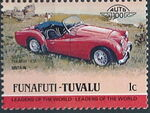 Tuvalu-Funafuti 1984 Leaders of the World - Auto 100 (1st Group) f