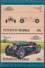 Tuvalu-Funafuti 1985 Leaders of the World - Auto 100 (2nd Group) b