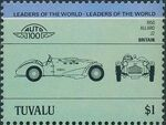 Tuvalu 1984 Leaders of the World - Auto 100 (1st Group) k
