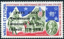 Wallis and Futuna 1978 Bicentenary of the arrival of Capt. Cook in Hawaiian Islands a