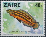 Zaire 1978 Fishes h