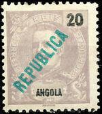 Angola 1914 D. Carlos I Overprinted c