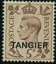 "British Offices in Tangier 1949 King George VI Overprinted ""TANGIER"" e"