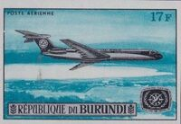 Burundi 1967 Opening of the Jet Airport at Bujumbura and International Tourist Year g