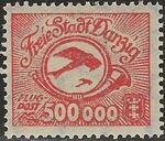 Danzig 1923 Air Post Stamps b