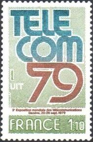 France 1979 3rd World Telecommunications Exhibition a